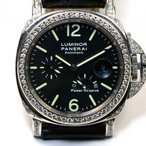 Panerai Custom 5.5ct VVS Diamond Bezel & Case PAM 90...
