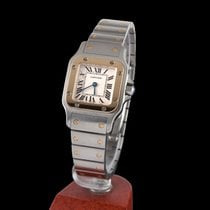 Cartier SANTOS STELL AND GOLD LADY