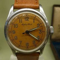 MATHEY TISSOT rare vintage auto bumper with anti magnetic cover