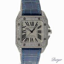 Cartier Santos 100 MM Diamonds