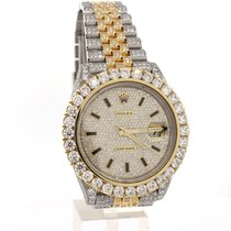 Rolex Datejust 41 126333 Custom Diamond highest quality diam