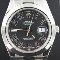Rolex Datejust II Steel 41MM, Dark Grey Dial,Full Set 116300