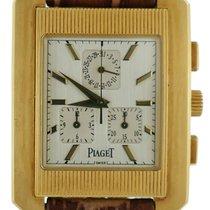 Piaget New Mens Piaget Protocole Chronograph Xl 18k Yellow...