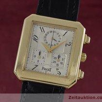 Piaget 18k (0,750) Gold Protocol Chronograph Herrenuhr Ref. 14254
