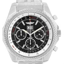 Breitling Bentley 6.75 Speed Chronograph Grey Dial Watch...