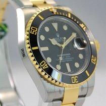 Rolex Submariner Two Tone 18kt YG/Stainless Steel-116613LN