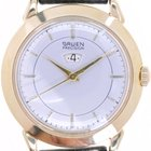 Gruen Mans Automatic Wristwatch with Winding Indicator Precision