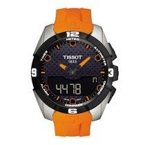Tissot T-Touch Expert Solar correa caucho naranja
