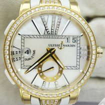 Ulysse Nardin Executive GMT Dual Time Lady Gold and Diamonds...