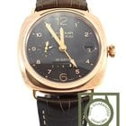 Panerai Radiomir 18K gold oro rosso 10d power reserve GMT...