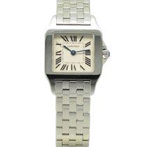 Cartier Santos Demoiselle Steel Quartz 20mm White Dial...