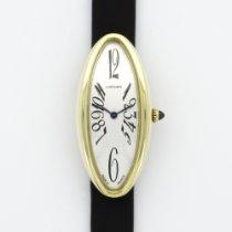 Cartier Yellow Gold Baignoire Allongee Strap Watch