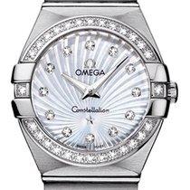 Omega Constellation Brushed 27mm 123.15.27.60.55.002