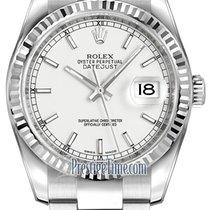 勞力士 (Rolex) Datejust 36mm Stainless Steel 116234 White Index...