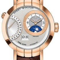 Harry Winston Premier Excenter Timezone 41mm prnatz41rr001