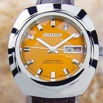 Citizen Diashock 17 Jewels Mens Vintage 1970 Manual Rare...
