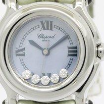 Chopard Polished Chopard Happy Sport Diamond Mop Dial Quartz...