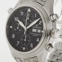 IWC Doppelchronograph Automatic Edelstahl Ref. IW3711