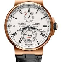 Ulysse Nardin Marine Chronometer 18K Rose Gold Men's Watch