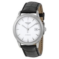 Longines Flagship Automatic White Dial Mens Watch L48744122