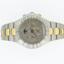 Omega Speedmaster Teutonic Mondphase Titan/Gold18K  very rare
