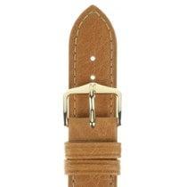 Hirsch Uhrenarmband Camelgrain honig M 01009110-1-11 11mm