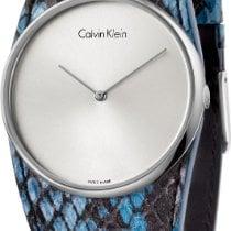 ck Calvin Klein Spellbound K5V231V6 Damenarmbanduhr flach...