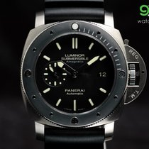 Panerai Pam 389 Luminor Submersible Amagnetic 3-days Titanium...
