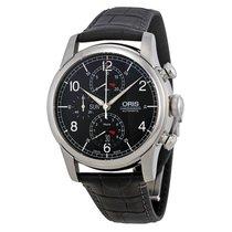 Oris Raid Limited Edition Black Dial Steel Men's Watch...