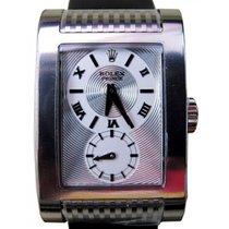 """Rolex Cellini Prince 54419-SLV Silver """"Godron Circulaire&#..."""