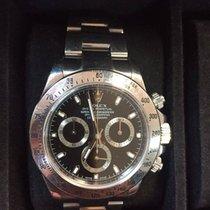 Rolex Cosmograph Daytona Steel Black Dial 116520