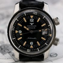 Wittnauer Ref 8007 Super Compressor Diver Vintage Watch
