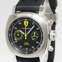 Panerai Ferrari 1/8th Split Second Chronograph Steel Watch...