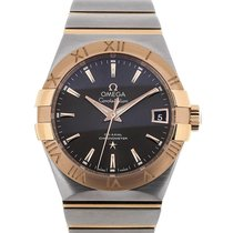 Omega Constellation 38 Automatic Grey Dial