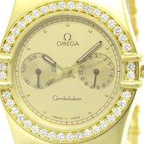 오메가 (Omega) Polished Omega Constellation Day Date Diamond 18k...