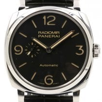 Panerai PAM 572 Radiomir 1940 Men's 45mm Stainless Steel 3...