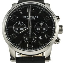 Montblanc Timewalker 9670 Stainless Steel 2016 Black Dial 43mm