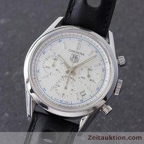 TAG Heuer Carrera Chronograph Automatik Herrenuhr Stahl Cv2110-0