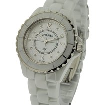 Chanel J12 38mm White