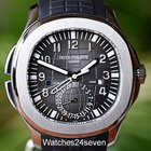 Patek Philippe Aquanaut Dual Time Black Dial Automatic Ref....
