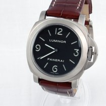 Panerai Luminor Base Manual Titanio  Pam00176