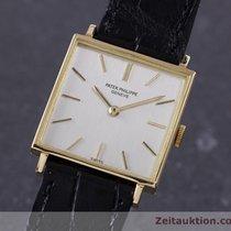 Patek Philippe 18k Gelb Gold Handaufzug Karrée Vintage Ref. 3430
