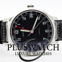 Longines Heritage Military 1938 Black Dial 42mm T