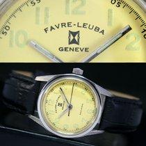 Favre-Leuba Geneve Sea King Winding Steel Watch