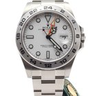Rolex Oyster Perpetual Explorer II 42mm White dial NEW