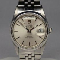 Tudor Oyster Prince Date + Day Silver Dial 35mm