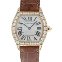 Cartier Tortue 18K Yellow Gold & Diamonds 2645