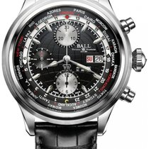 Ball Trainmaster Worldtime GMT Chronograph