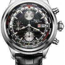 Ball Trainmaster Worldtime GMT Chronograph