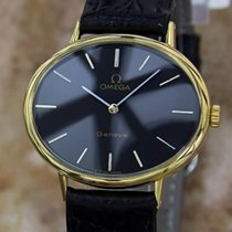 Omega Geneve Swiss Made 1980s Unisex 32mm Gold Plated Manual...